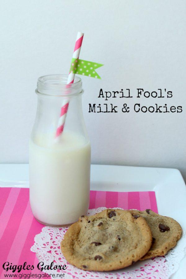 April Fool's Milk and Cookies Prank