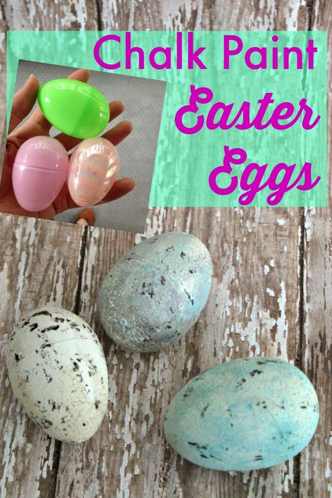 Chalk Painted Easter Eggs! 20+ Creative Ways to Paint Easter Eggs on decigndazzle.com!
