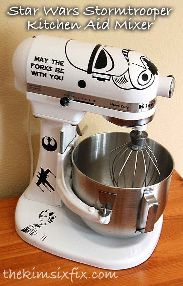 Customized Star Wars Stand Mixer using Vinyl