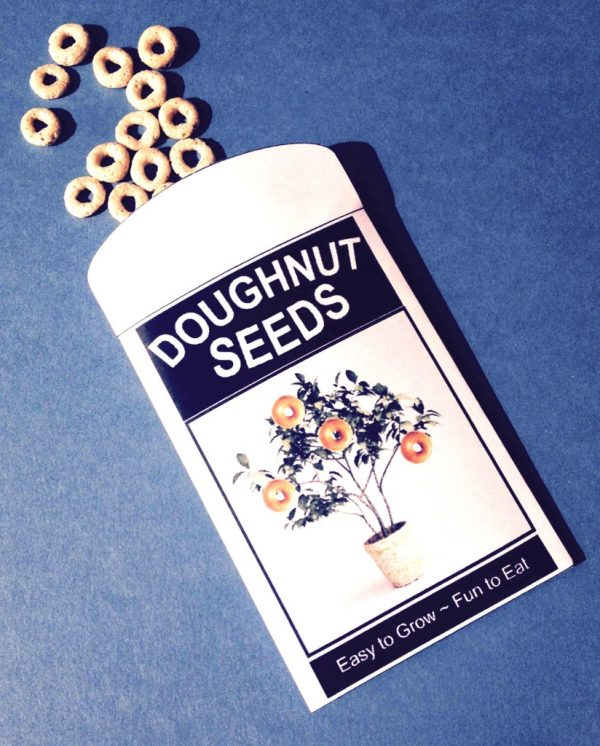 Doughnut Seeds Printable for April Fool's Day Joke