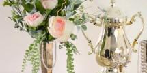 Downton Abbey Floral Arrangement - Design Dazzle