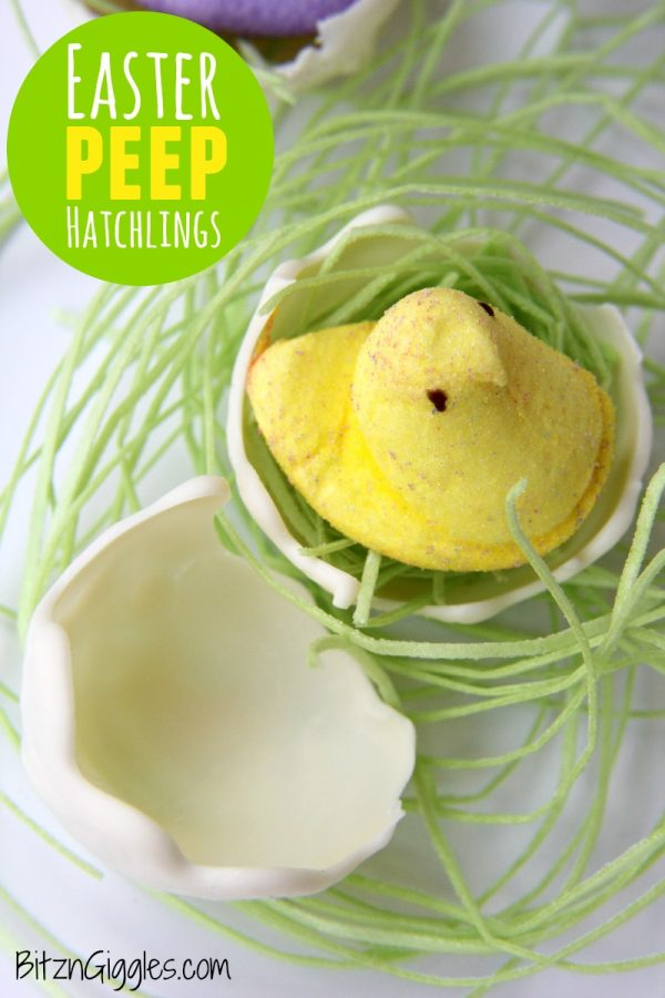 Sweet Easter Peep Hatchling Treats