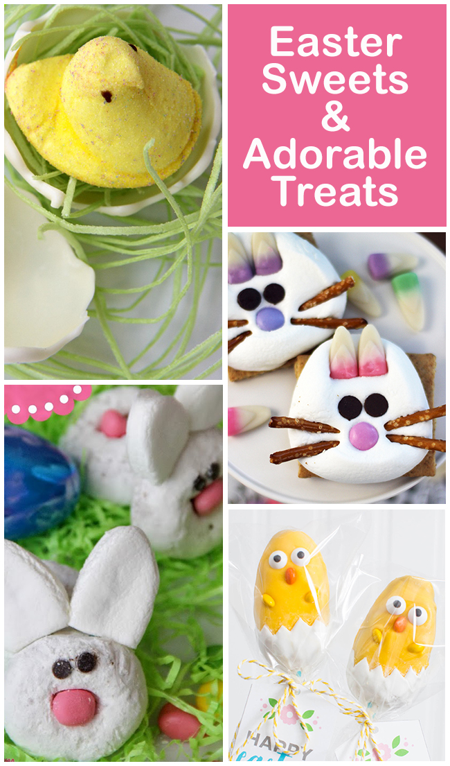 Collection of Easter Sweets and Adorable Treats