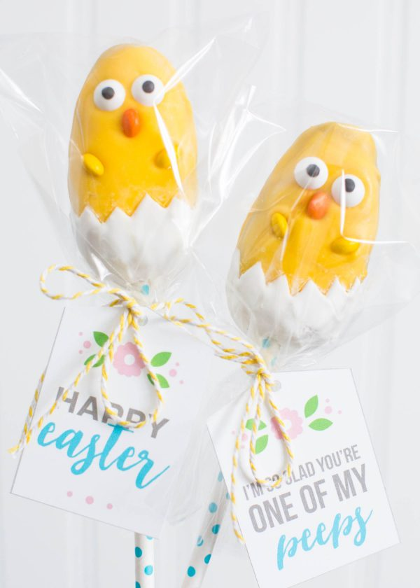 Easter Chick Reeses Treats