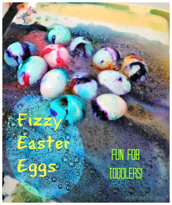 Fizzy Easter Egg Activity for Children