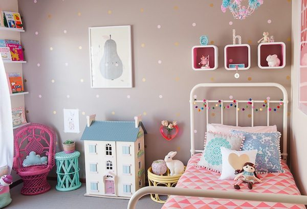 Polka Dot Bedrooms For Kids: Sweet Polka Dots In A Girls Room! Adorable  Polka
