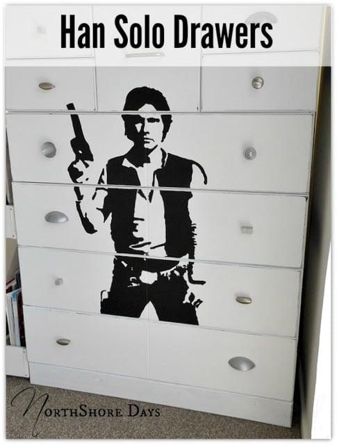 Star Wars Painted Dresser