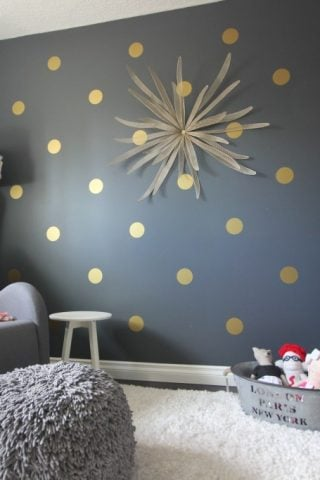 Polka Dot Bedrooms for Kids
