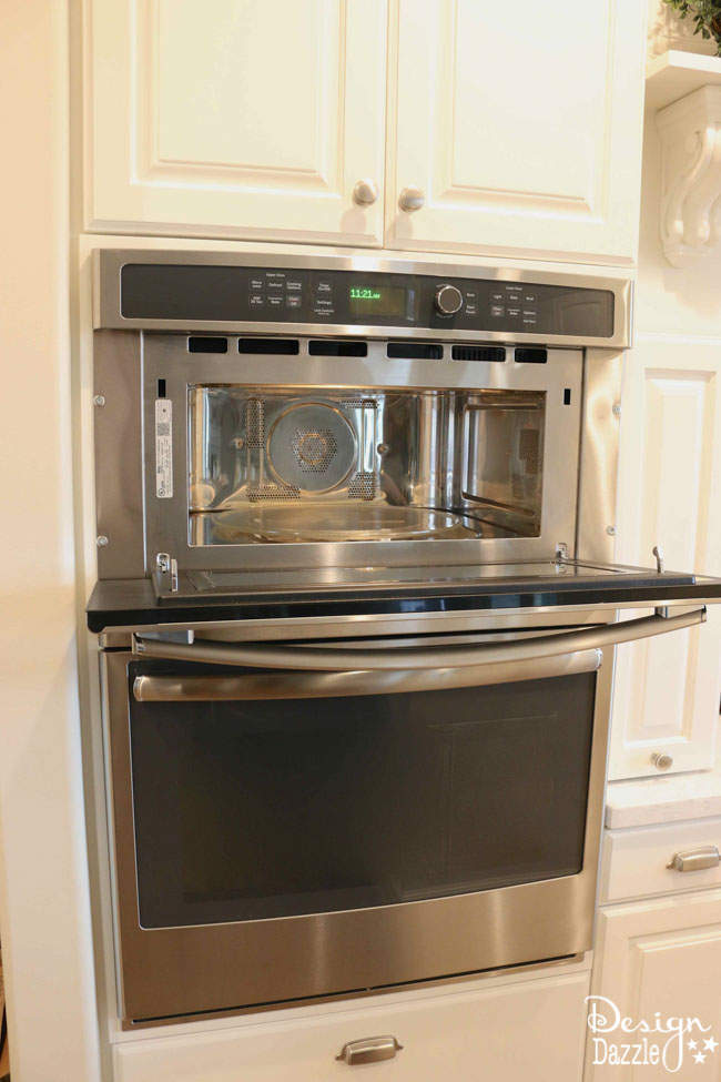Double oven and microwave combination bestmicrowave for Double oven and microwave cabinet