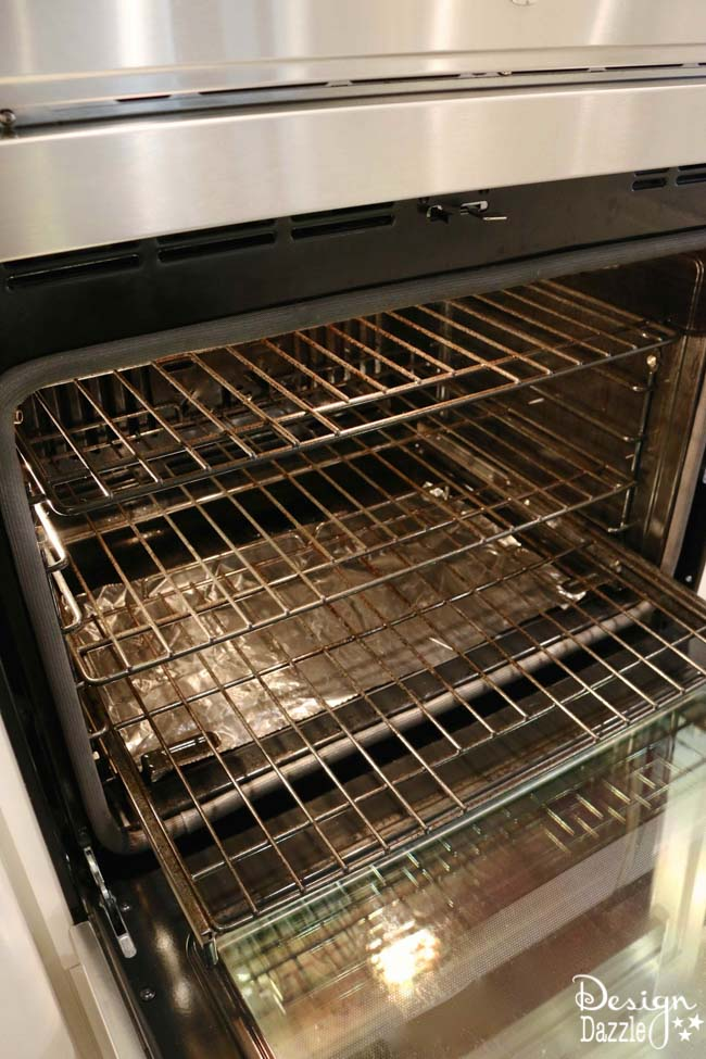 can you manually clean a self cleaning oven