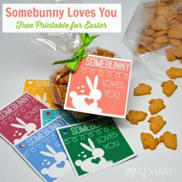 Somebunny Loves You Free Printable!