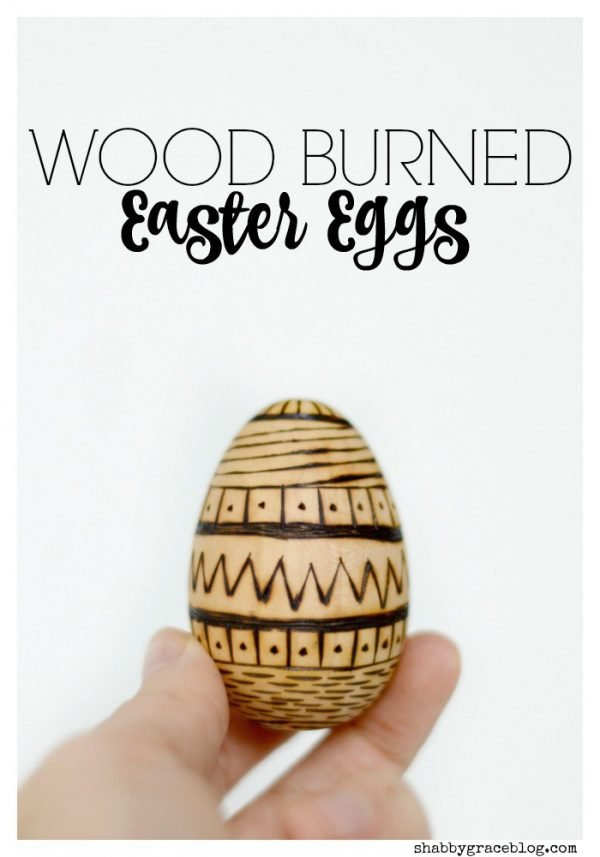 Wood-Burned Easter Eggs