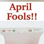 Donut Box Veggie Tray and Other April Fool's Pranks
