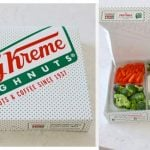 Donut Box Veggie Tray and Other April Fool's Pranks