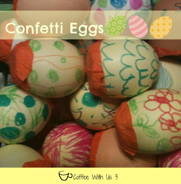 Easter Traditions to start with your family this year! Confetti Eggs your kids will love to decorate! www.DesignDazzle.com