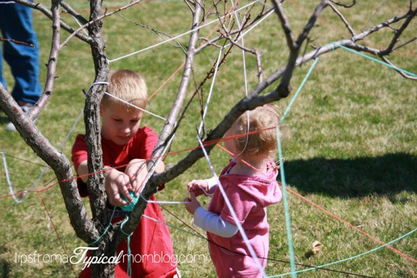 Easter Traditions to start with your family this year! Easter basket maze! www.DesignDazzle.com