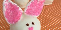 Easter Bunny Cake Truffles