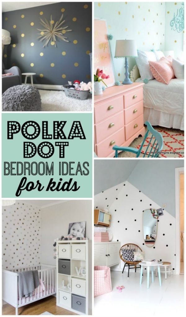 Polka dot bedrooms for kids design dazzle bloglovin for Polka dot bedroom designs