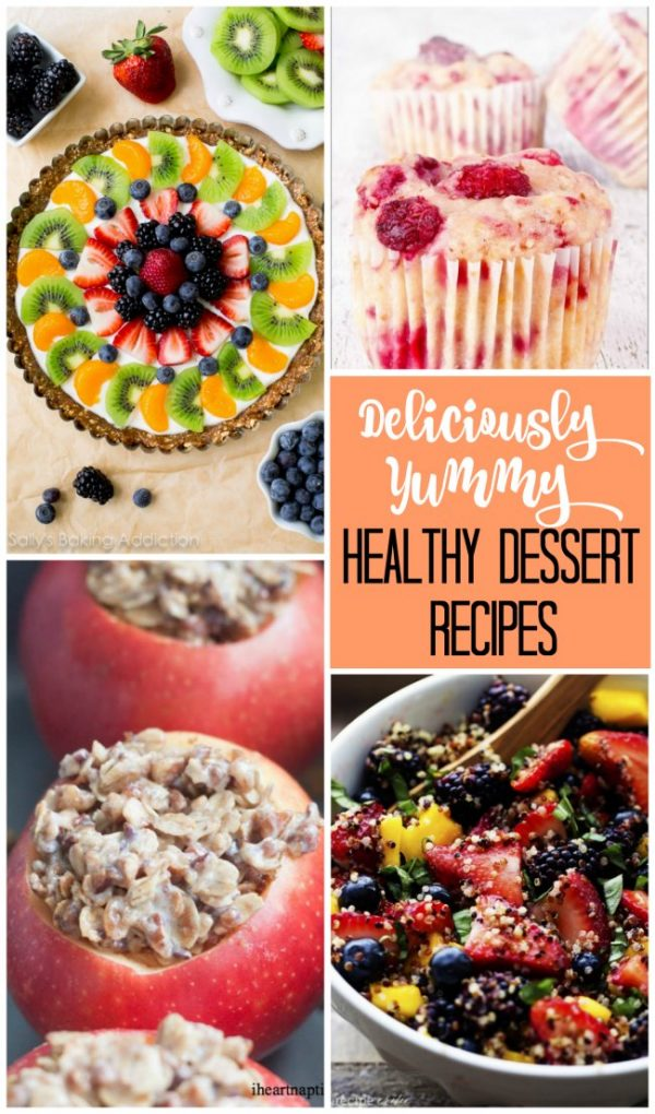 Great collection of both deliciously yummy AND healthy dessert recipes