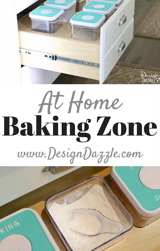 Organizing your baking zone