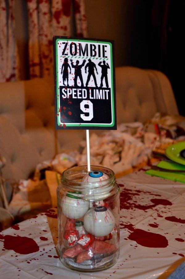 zombie party goods