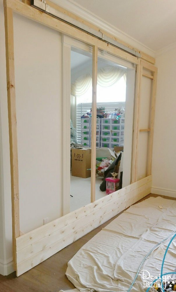 How To Build A Sliding Wall To Create A Secret Room. Yes, The Wall
