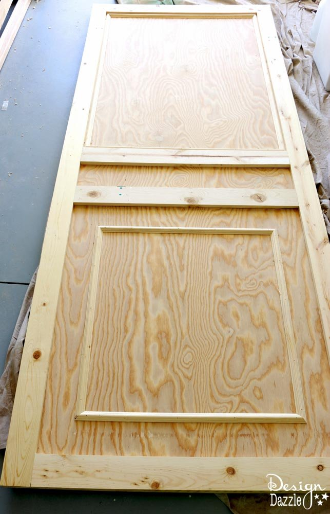 "How To Make Vintage ""Old"" Doors From New Wood. I created these ""old"" doors using mirrors and new wood. I give step by step instructions on how to create these. Design Dazzle"