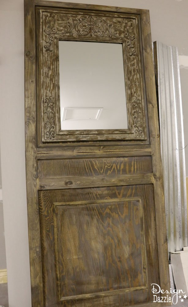 "How To Make Vintage ""Old"" Doors From New Wood"