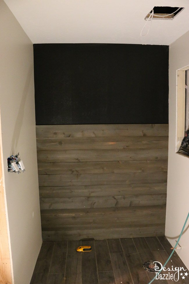 Create A Weathered Rustic Wood Wall With New Wood  Design Dazzle