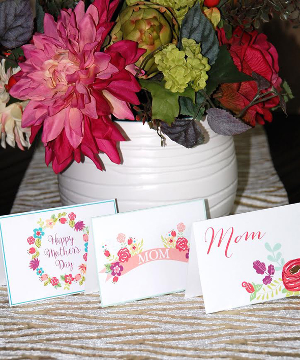 Beautiful Cards to print for Mother's Day!
