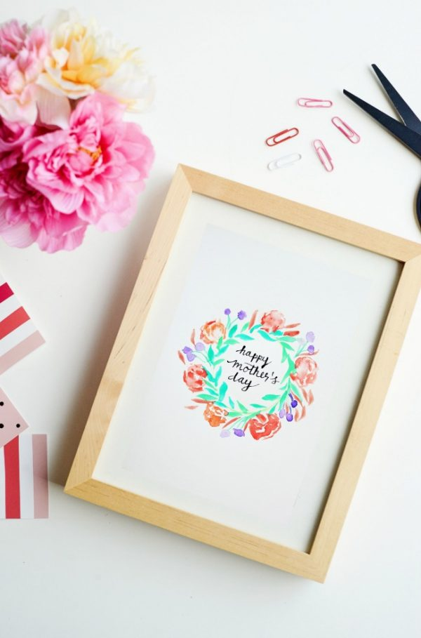 Mother's Day Print to frame and give.