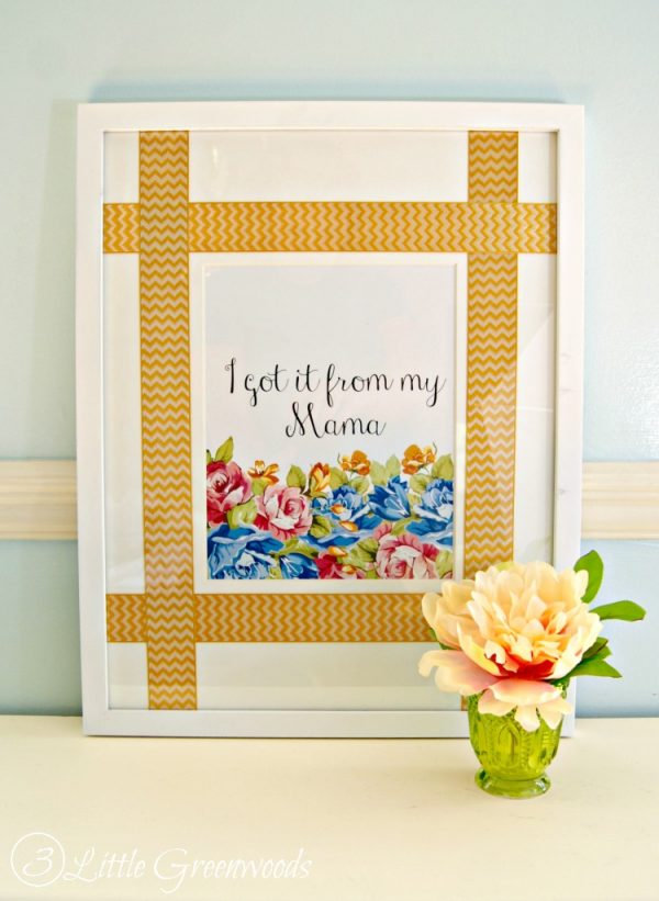 I Got It from My Mama printable