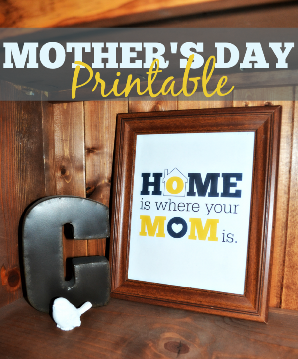 Home Is Where Mom Is print for Mother's Day.