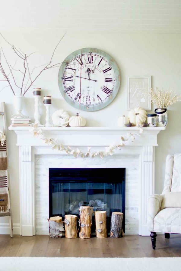 Fireplace Remodel before and after | Design Dazzle