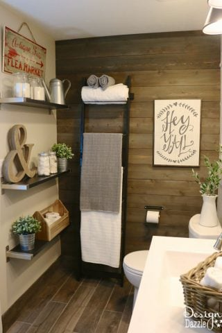 Farmhouse Bathroom IKEA Style