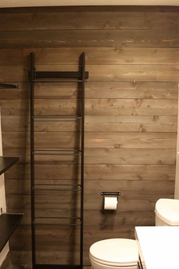 Modern farmhouse bathroom-7