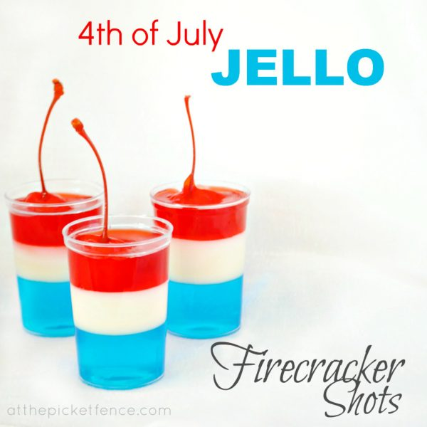 Red, White, and Blue Jello! Great for 4th of July celebrations!