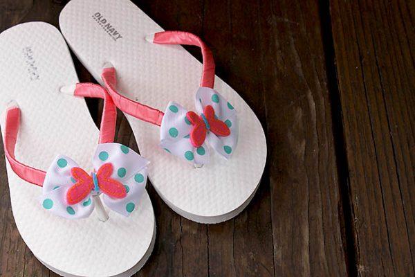 DIY Fashion Flip Flops