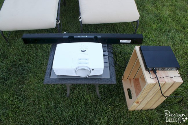 Hosting an Outdoor Movie in 5 Simple Steps | Design Dazzle
