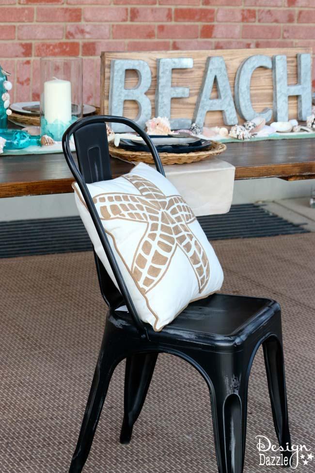 Beach tablescape summer celebration | Design Dazzle