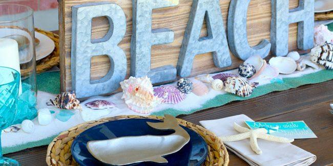 beach tablescape summer celebration-6