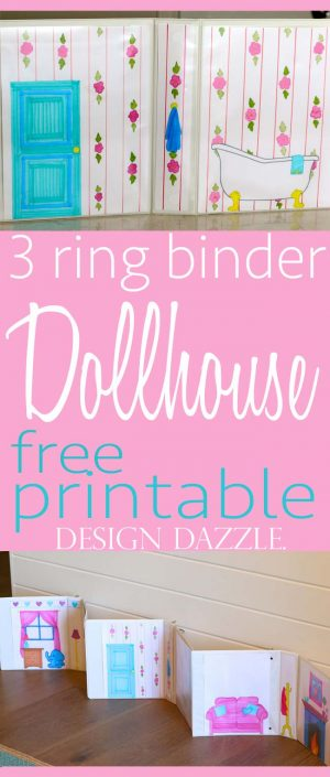 Free printable doll house | Design Dazzle