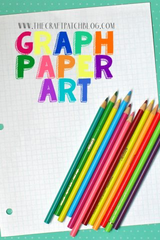 graph paper pixelated art for kids