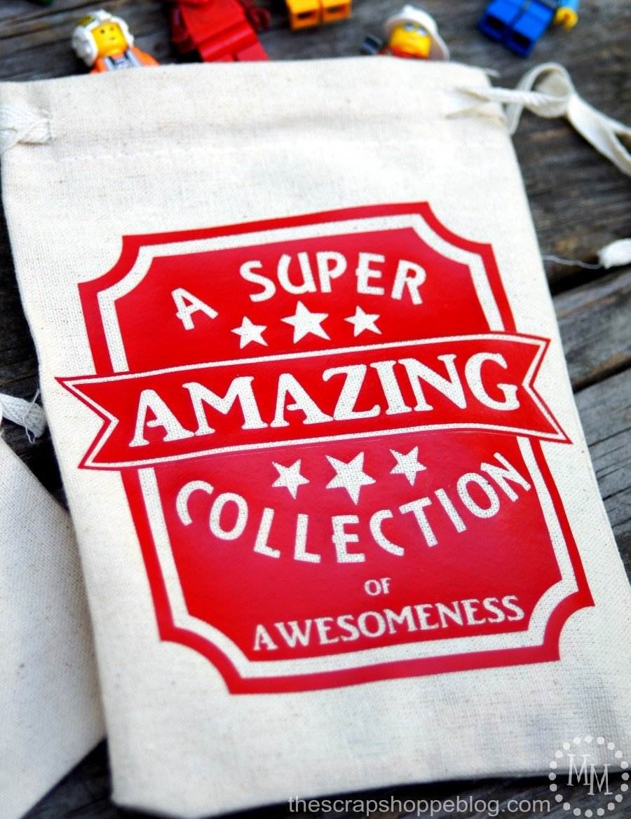 "Make the kids their own Collection Bags! Great for road trip or just storing ""stuff!"""