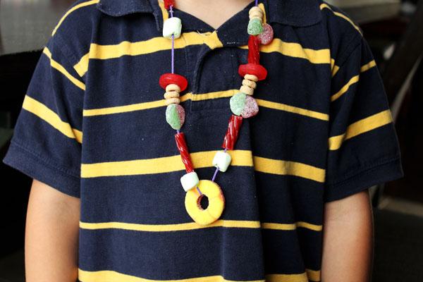 DIY Candy Necklaces- www.designdazzle.com