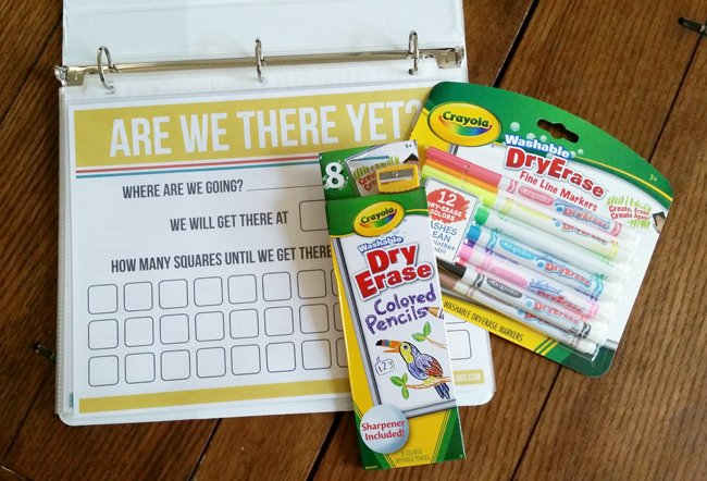 Are we there yet? as part of the Road Trip Kit! Perfect for summer vacations!