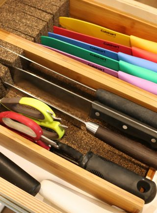 Kitchen Knife Drawer Solution