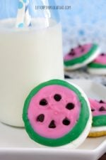 Watermelon-Shaped Summer S'mores Treat