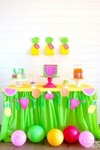 Fruitilicious Party Ideas
