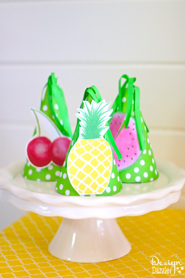 Fruitilicious Party Ideas! Deliciously darling ideas for the cutest summer party yet! You will love the printables included!